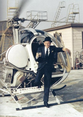 Frank Sinatra, photographed by Yul Brynner, 1964.