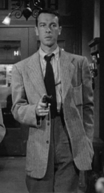 John Dall as Bart Tare in Gun Crazy (1950)