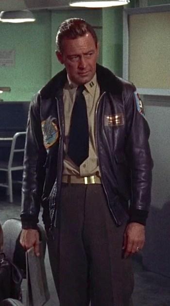 William Holden as LT Harry Brubaker in The Bridges at Toko-Ri (1954)