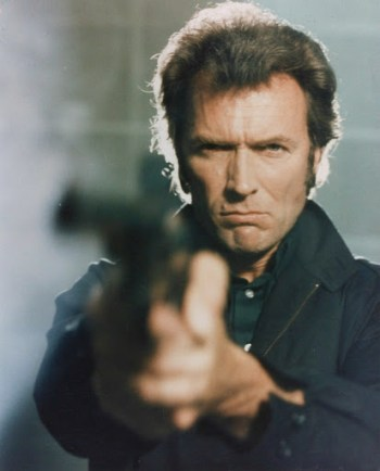 "Clint Eastwood as Inspector ""Dirty Harry"" Callahan in Magnum Force (1973)"