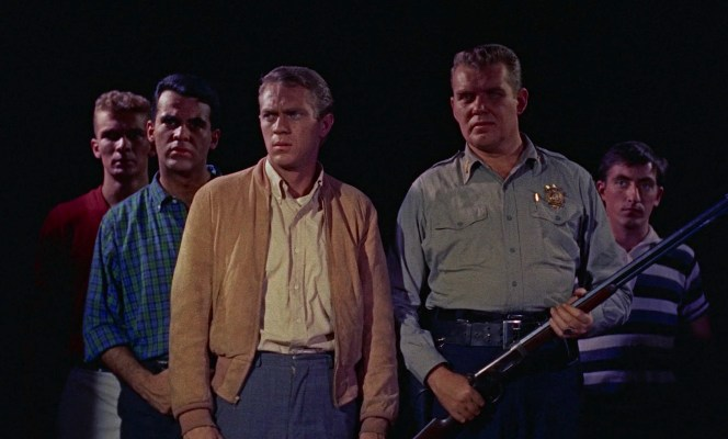 The teens work with Lieutenant Dave (Earl Rowe), your friendly local police lieutenant, to defeat The Blob.