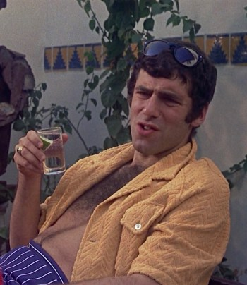 Elliott Gould as Ted Henderson in Bob & Carol & Ted & Alice (1969)