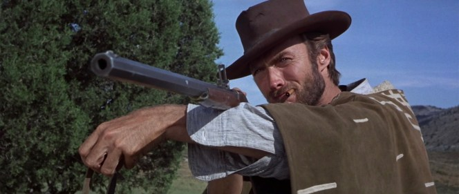 "The IMFDB writer also states that the placement of Eastwood's arm during the scene prevents the viewer from recognizing the ""breechblock pivot area"" that would distinguish the Spencer from the Sharps."