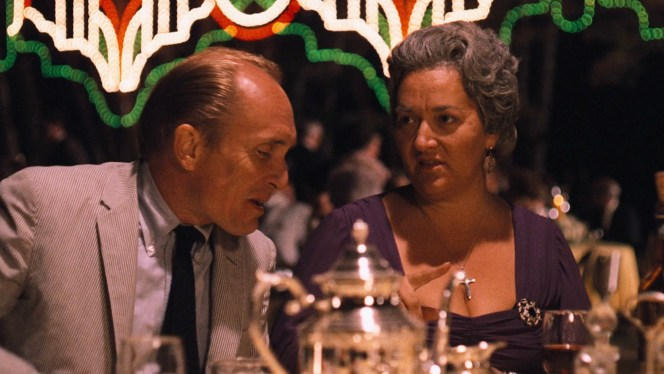 The Corleone matriarch (Francesca De Sapio) may be displeased by most of her children's choices in romantic partners, but both she and Michael benefit from having Tom Hagen as a steady right-hand man.