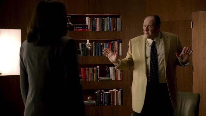 Tony's seven years of treatment with Dr. Melfi come to an abrupt end.