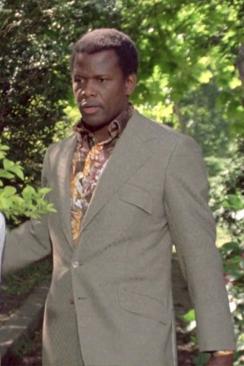 Sidney Poitier as Dr. Matt Younger in A Warm December (1973)