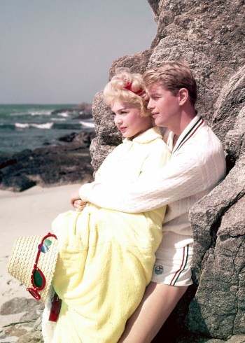 Troy Donahue and Sandra Dee in A Summer Place (1959)