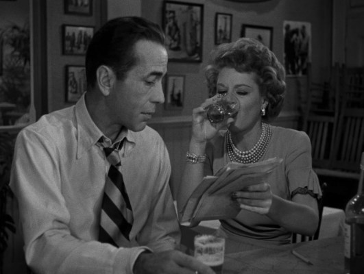 Frank makes a fast friend and drinking companion in Gaye Dawn as the two bond over her knack for picking the right horses.
