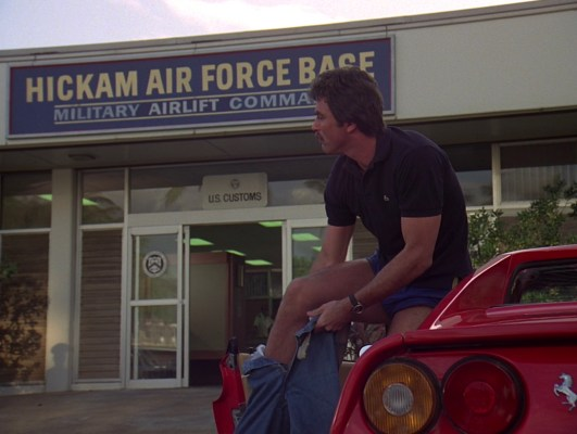 Even when stepping out of a Ferrari in paradise, Thomas Magnum puts his pants on one leg at a time, just like the rest of us.