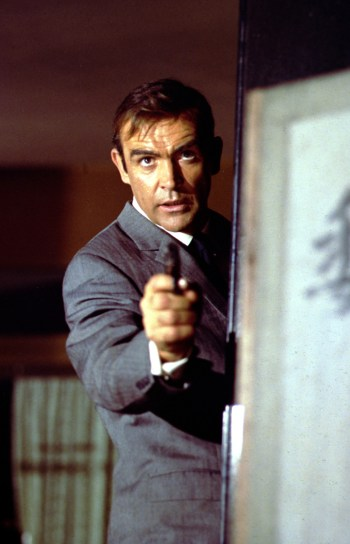 Sean Connery as James Bond in You Only Live Twice (1967)