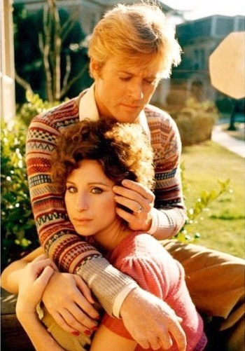 Robert Redford and Barbra Streisand in The Way We Were (1973)