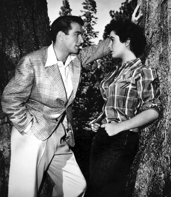 Montgomery Clift and Elizabeth Taylor in A Place in the Sun (1951)