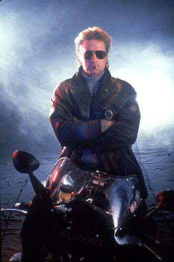 Michael Douglas as Nick Conklin in Black Rain (1988)
