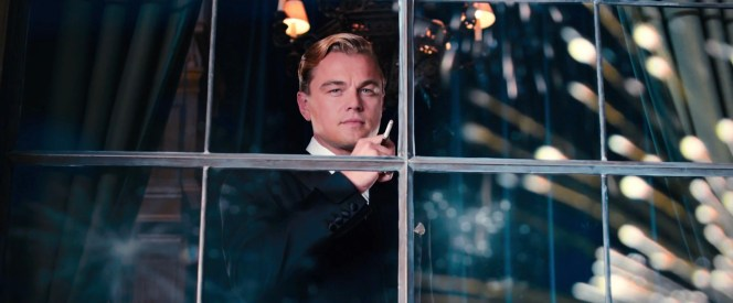 Note Gatsby's silk-faced gauntlet cuffs.