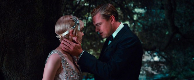 Gatsby's watch flashes from under his shirt cuff as he cherishes every minute spent with his once-lost love.