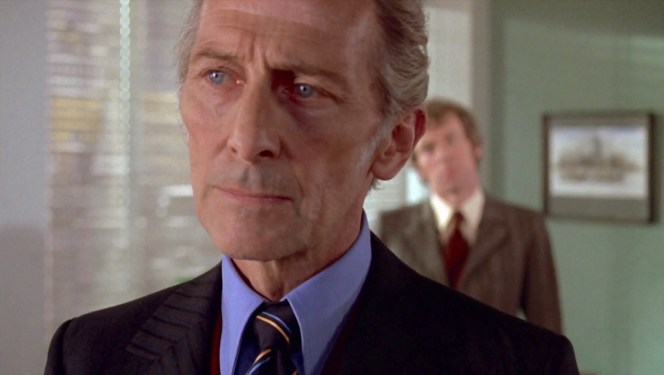 Peter Cushing in Dracula A.D. 1972