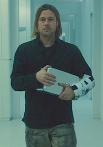 Brad Pitt as Gerry Lane in World War Z (2013)