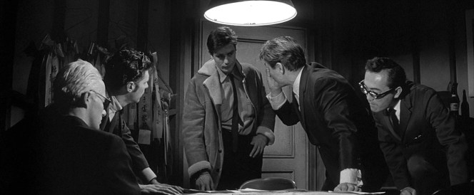 Alain Delon in Once a Thief (1965)