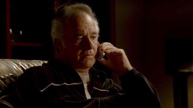 "Tony Sirico as ""Paulie Walnuts"" Gualtieri in ""Moe n' Joe"", the tenth episode of the sixth season of The Sopranos."