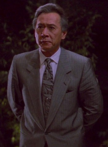 James Shigeta as Joe Takagi in Die Hard (1988)