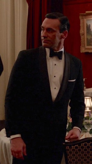 Jon Hamm as Don Draper on Mad Men