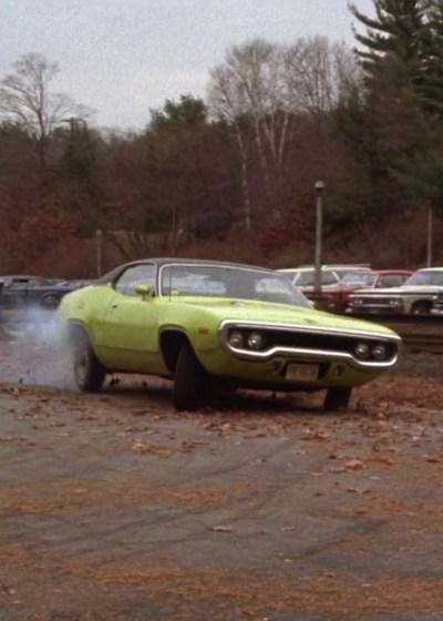 Jackie Brown's Plymouth Road Runner in The Friends of Eddie Coyle (1973)