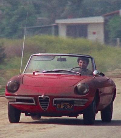 "1966 Alfa Romeo Spider 1600 ""Duetto"" in The Graduate (1967)"