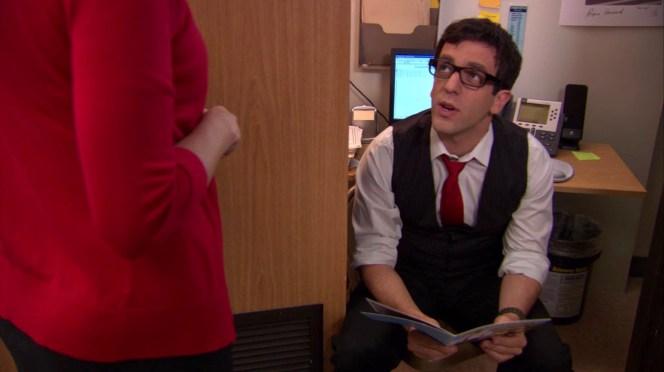 B.J. Novak in The Office