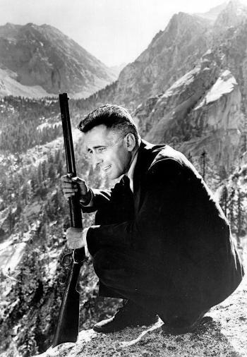Humphrey Bogart as Roy Earle in High Sierra (1941)