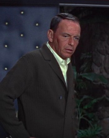 Frank Sinatra in Marriage on the Rocks (1965)