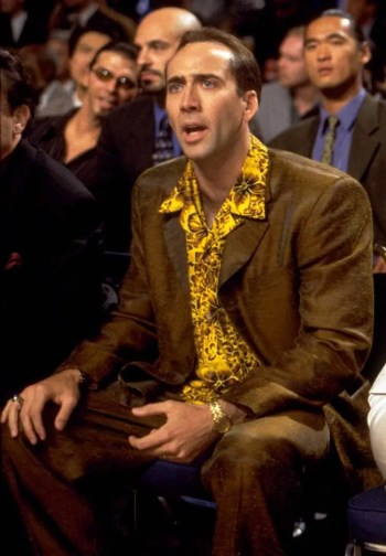 Nicolas Cage as Rick Santoro in Snake Eyes (1998)