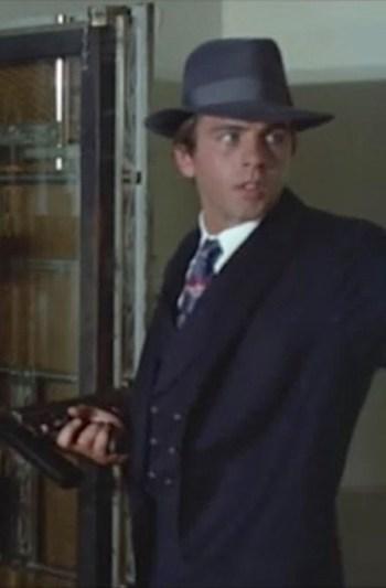 """Fabian Forte as Charles """"Pretty Boy"""" Floyd in A Bullet for Pretty Boy (1970)"""