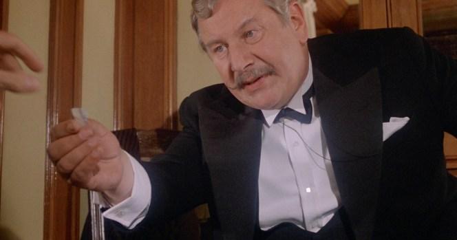 Peter Ustinov as Hercule Poirot in Death on the Nile (1978)
