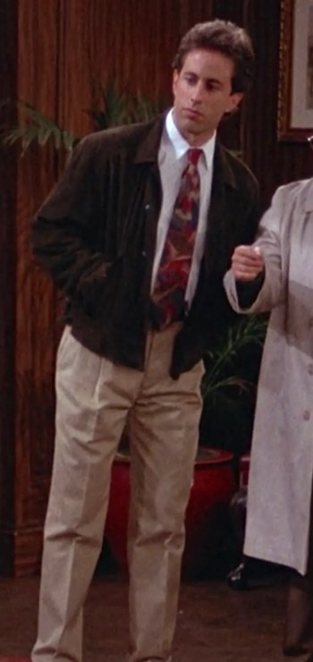 """Jerry Seinfeld on Seinfeld (Episode 2.03: """"The Jacket"""")"""