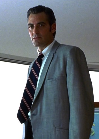 George Clooney as Jack Foley in Out of Sight (1998)