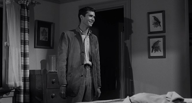 Anthony Perkins as Norman Bates in Psycho (1960)