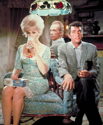Dean Martin with Kim Novak and Ray Walston in Kiss Me, Stupid (1964)