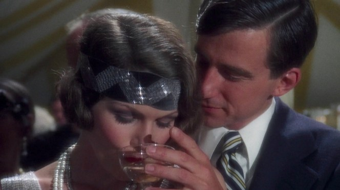 Lois Chiles and Sam Waterston in The Great Gatsby (1974)