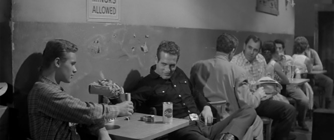 Brandon deWilde and Paul Newman in Hud (1963)