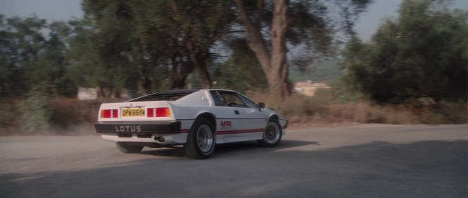 1980 Lotus Esprit Turbo in For Your Eyes Only (1981)