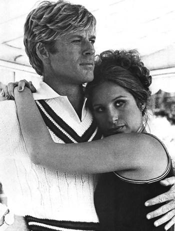 Robert Redford and Barbra Streisand in The Way We Were (1973)