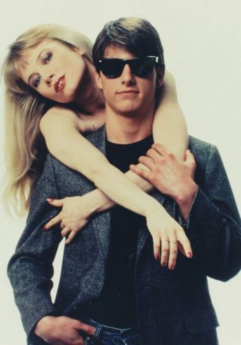 Tom Cruise and Rebecca De Mornay in Risky Business (1983).