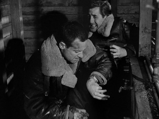 William Holden and Don Taylor n Stalag 17 (1953)