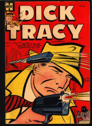 Dick Tracy comic book cover