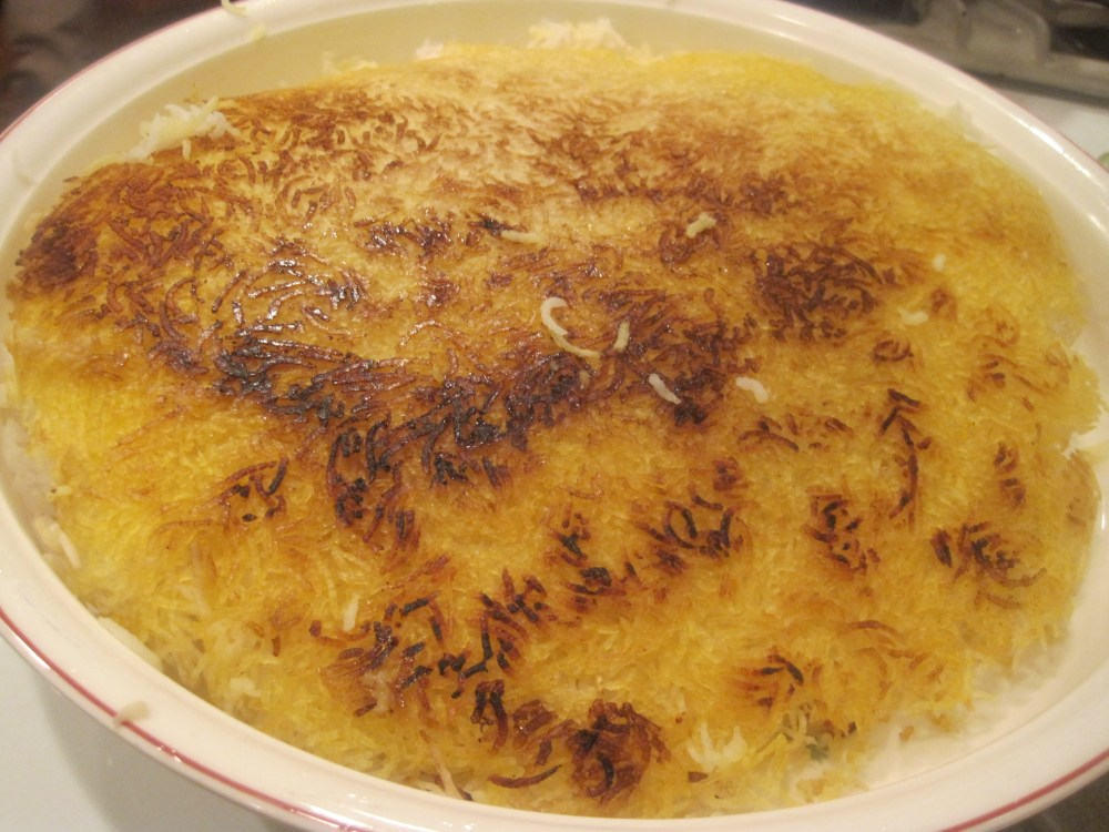 Persian Rice with Tadig (1/4)