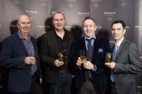 Aidan McParland, Greg Elliott, Greg Hughes from Dillon Bass and Vincent Borjon Prive from Hennessy