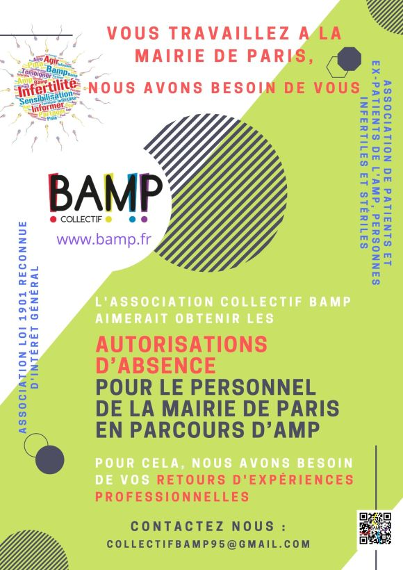 appel à témoignage AMP travail mairie de paris