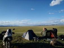 3rd campsite Mongolia.
