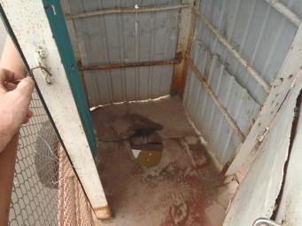 Toilet on the Aldan ferry