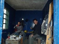 BAM first railway hut hotel tea.